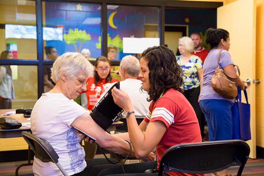photo of fall prevention workshop for seniors