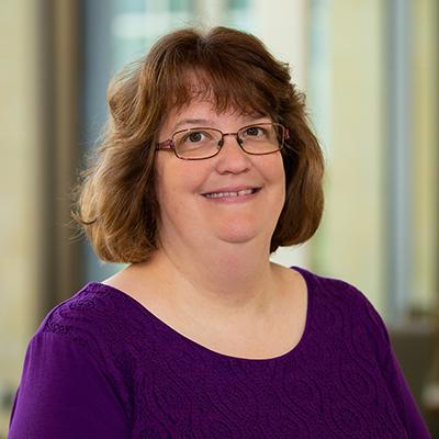 Portrait of Julie Patrick
