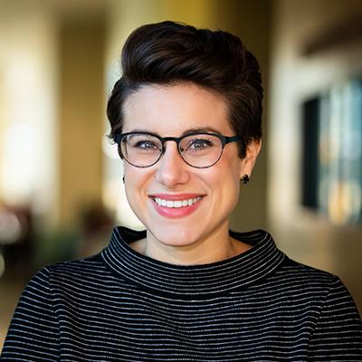 Portrait of Claire Myers