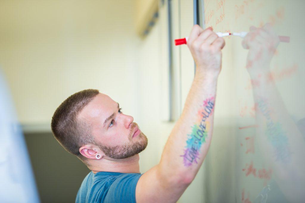 Mathew Trapp, accelerated BSN graduate